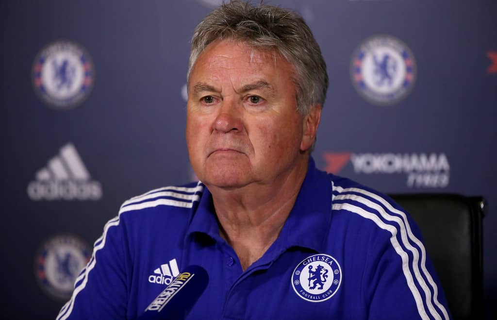 guus hiddink chelsea coach