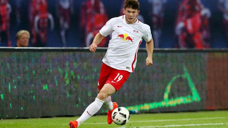 Leipzig player aims high
