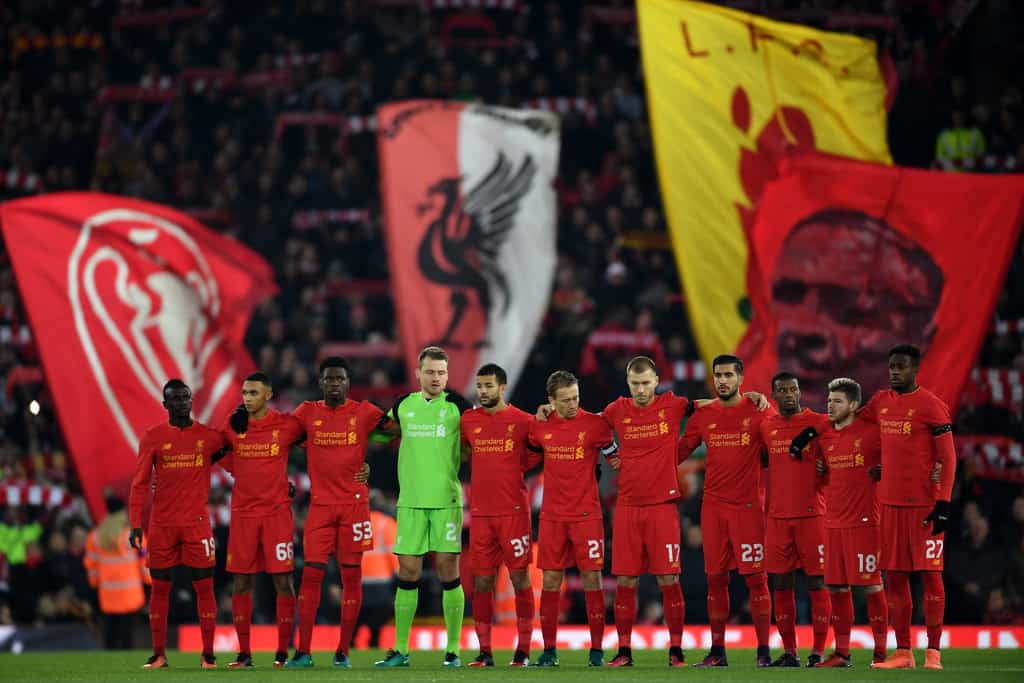Liverpool pay tribute to Chapocoense