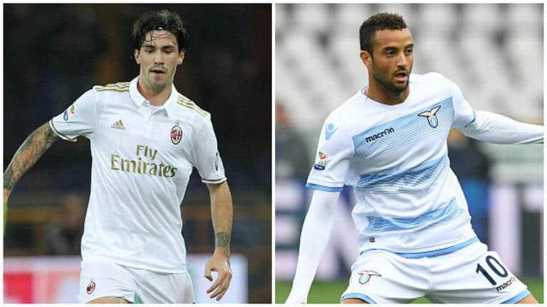 Felipe Anderson and Alessio Romagnoli on Chelsea radar