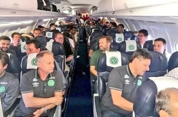 Three Chapecoense players survive after aircraft crash
