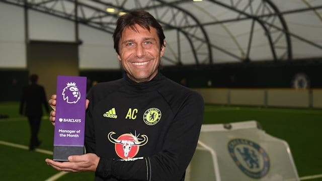 Antonio Conte Manager of The Month