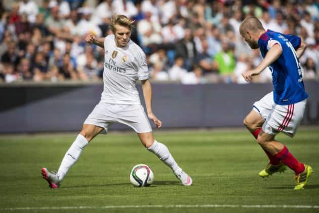 Rennes still interested in Odegaard
