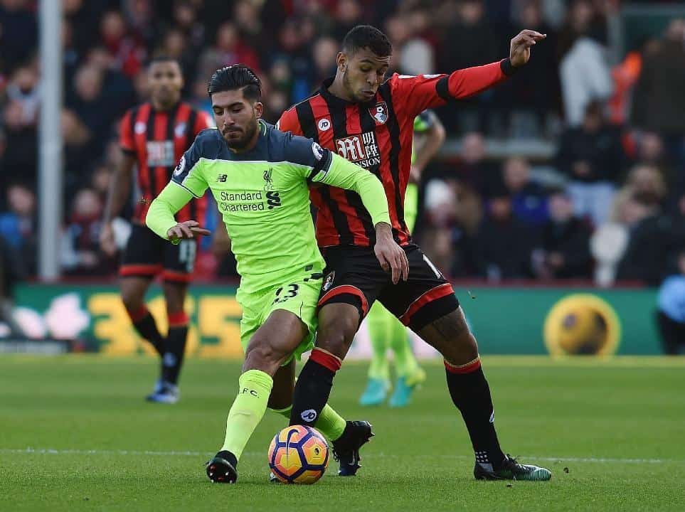 Bournemouth vs Liverpool 4-3