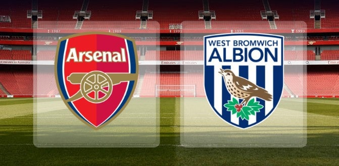 Arsenal vs West Bromwich