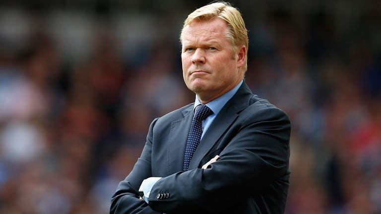 Ronald Koeman Everton Coach