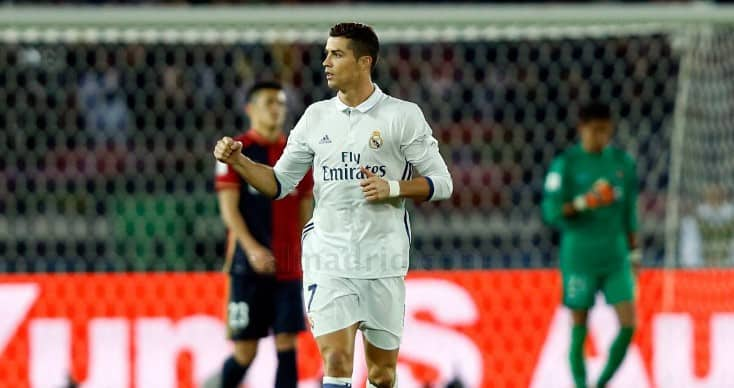 Ronaldo scored hat-trick against Kashima Antlers