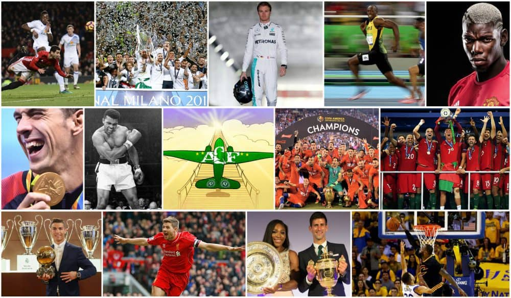 16 moments of 2016 sports