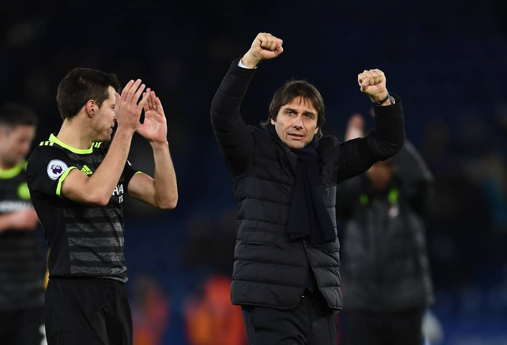 Antonio Conte's Chelsea continue their journey to the Premier league glory.