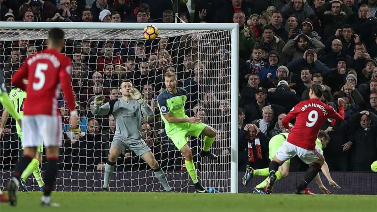 Ibra saves a point for Man Utd against Liverpool