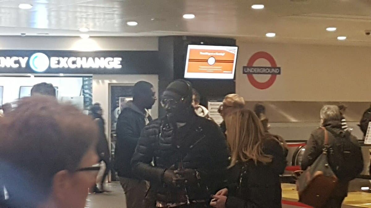 Sakho spotted in London ahead of Crystal Palace move