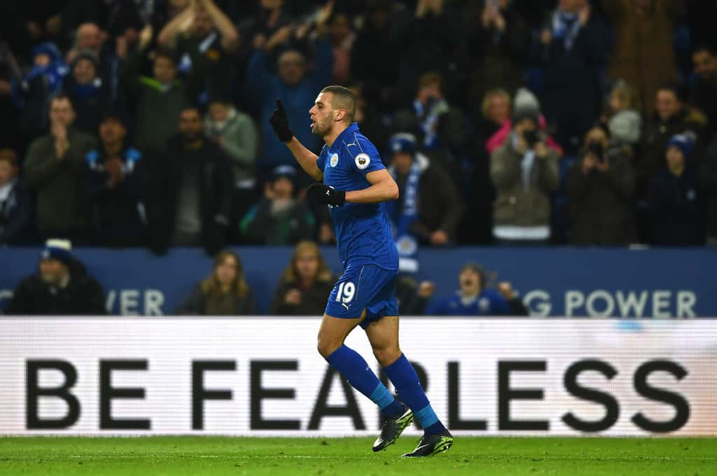 Leicester reject huge Slimani offer