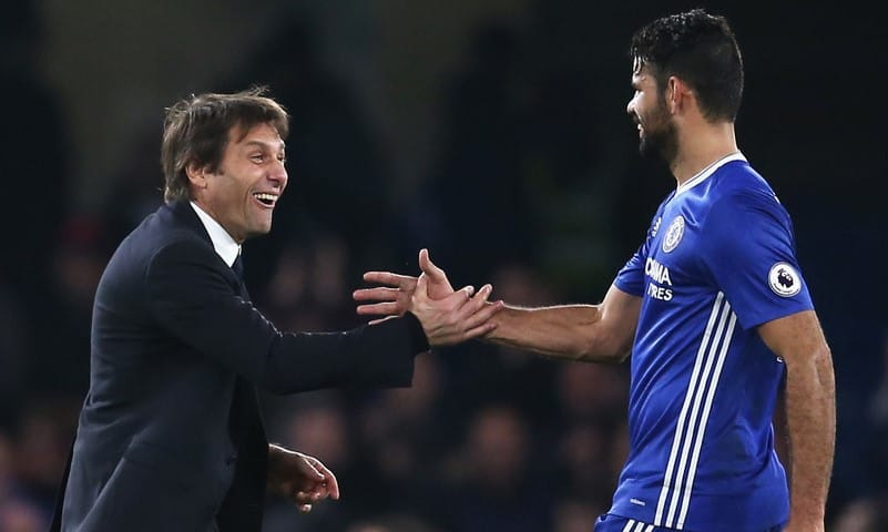 Conte: Costa has a back problem