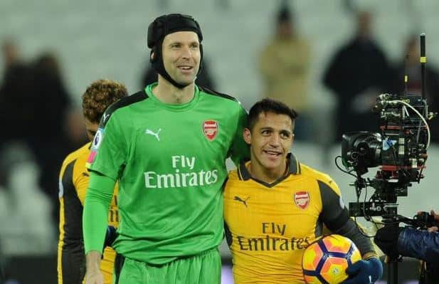 Petr Cech on Alexis Sanchez and Mesut Ozil