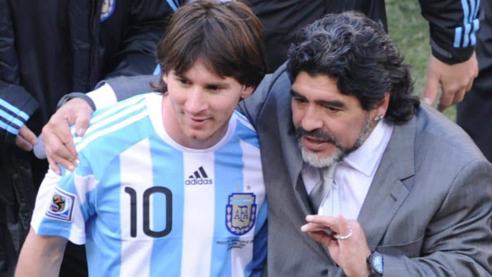 Maradona is critical of Messi's absence at FIFA Awards ceremony