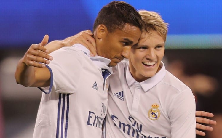 SC Heerenveen have officially confirmed Martin Odegaard's signing from Real Madrid.