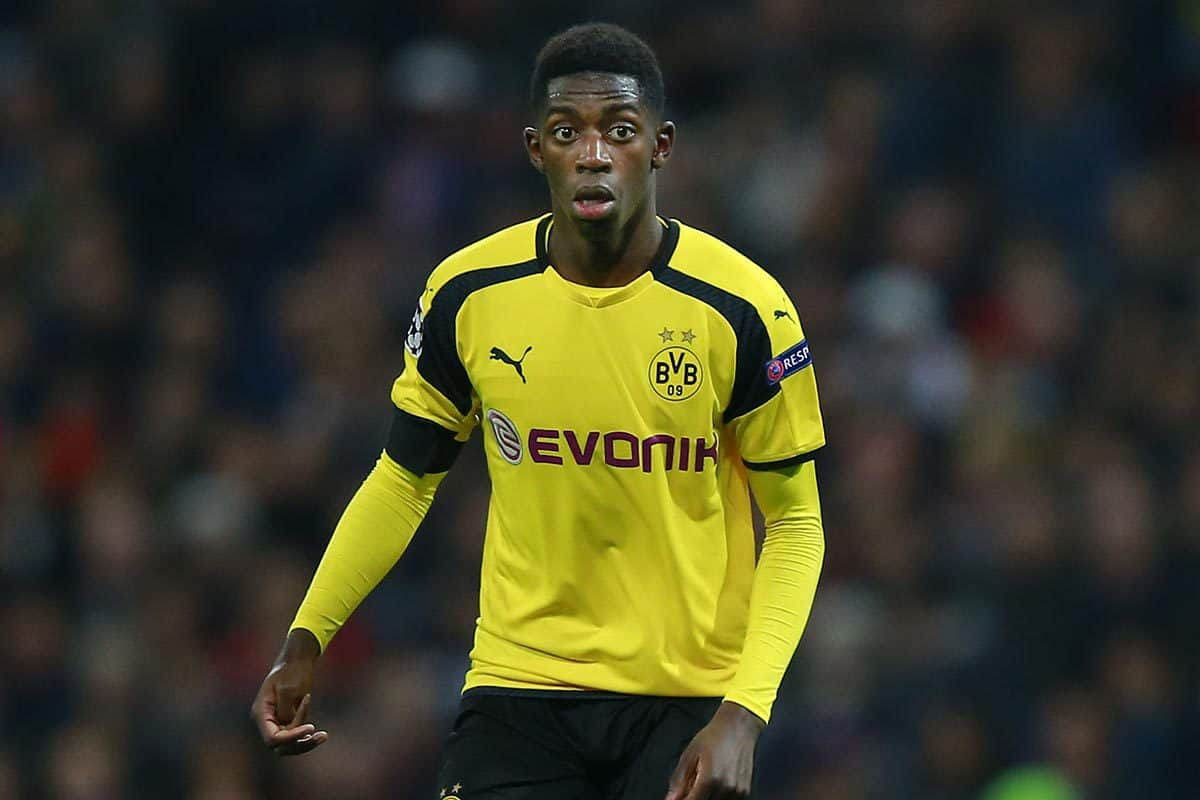 Ousmane Dembele has revealed offers from Man Utd and Barcelona