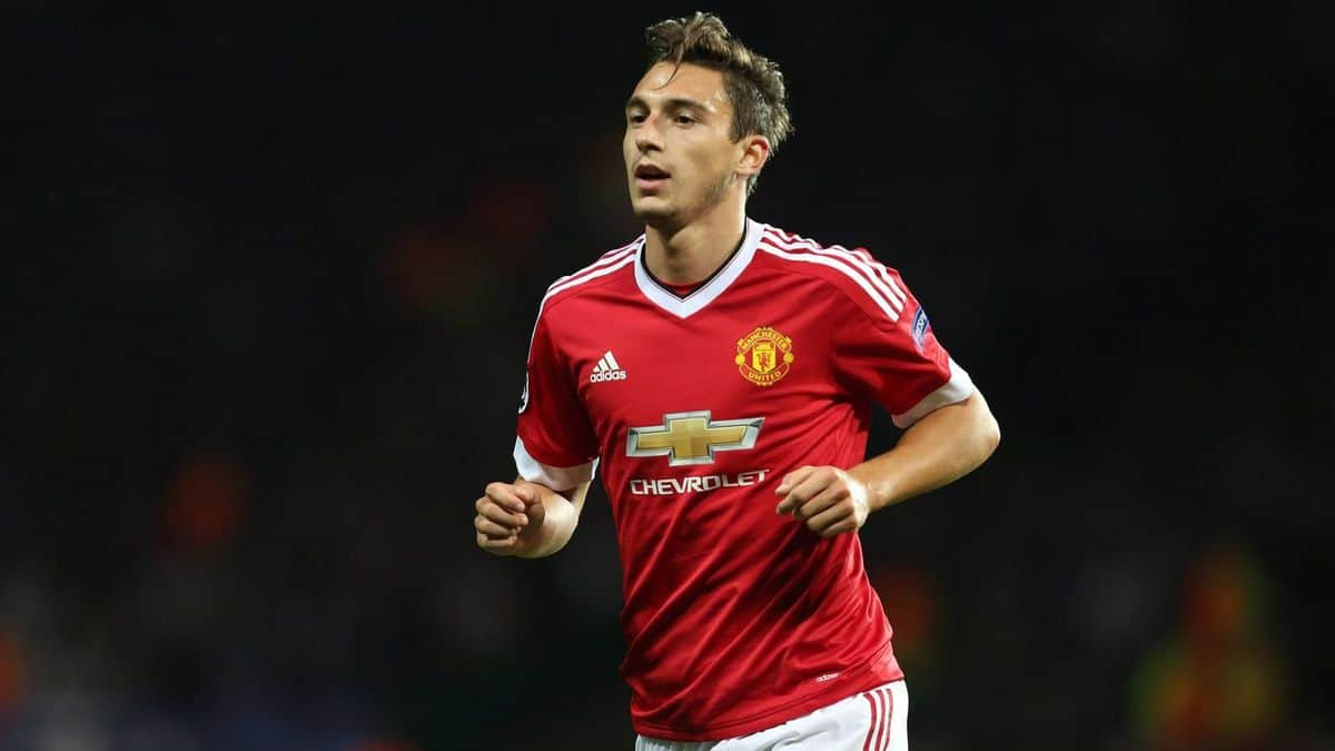 Manchester United defender Matteo Darmian remains a target for Inter