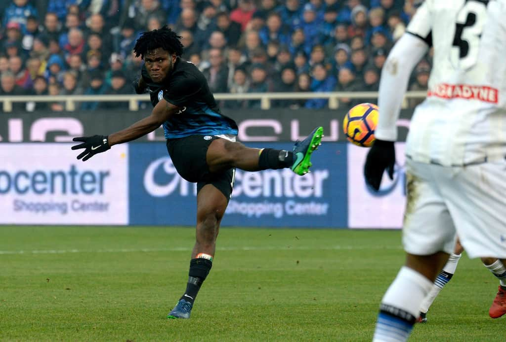 Kessie happy with interest from big clubs
