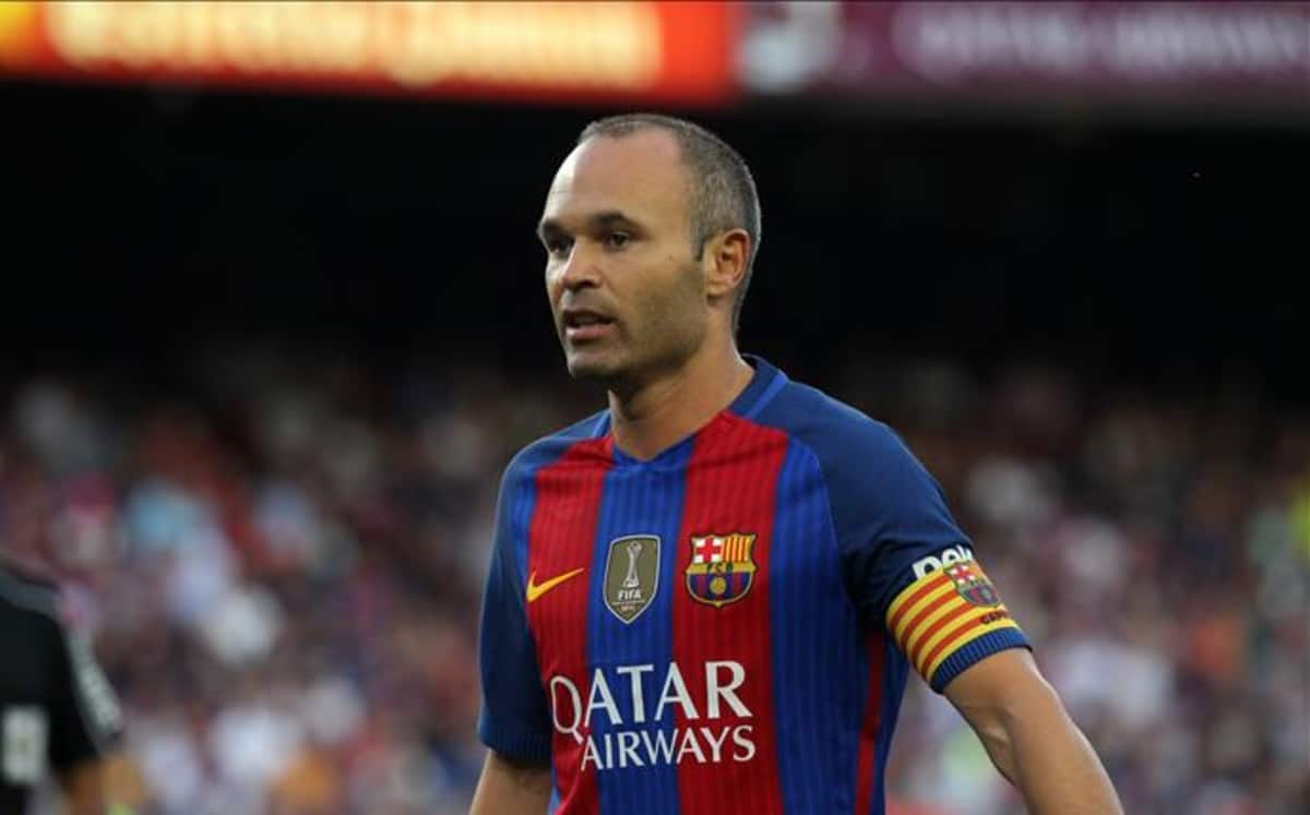 Iniesta reaches 400 game mark in La Liga