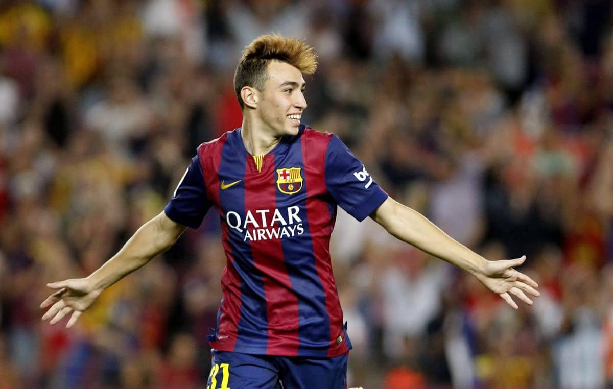 Samper insists he wants to play at Barcelona