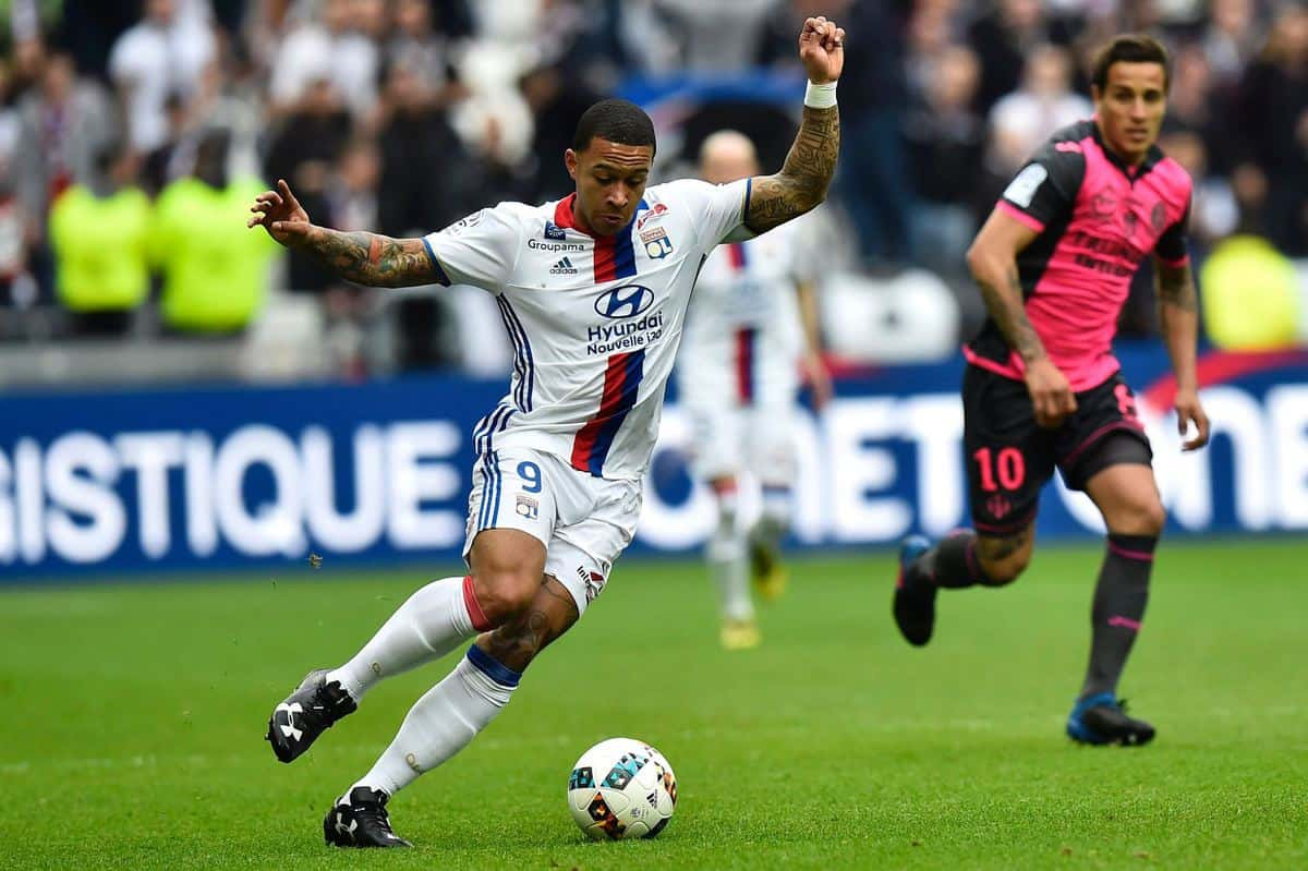Depay has claimed that he scored 'the best goal of his life' in Lyon's 4-0 win over Toulouse on Sunday