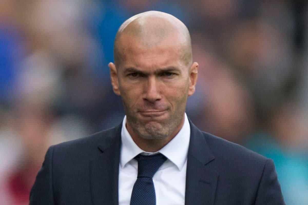 Zidane is considering a surprise raid on Atletico Madrid