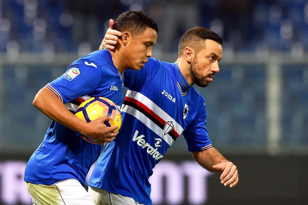 Atletico Madrid are eyeing Luis Muriel