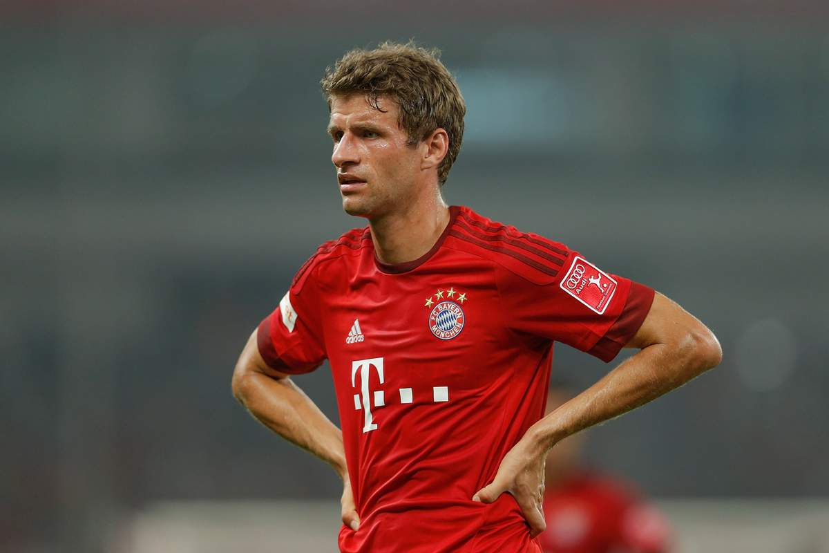 Thomas Muller is now ready for a move to Old Trafford