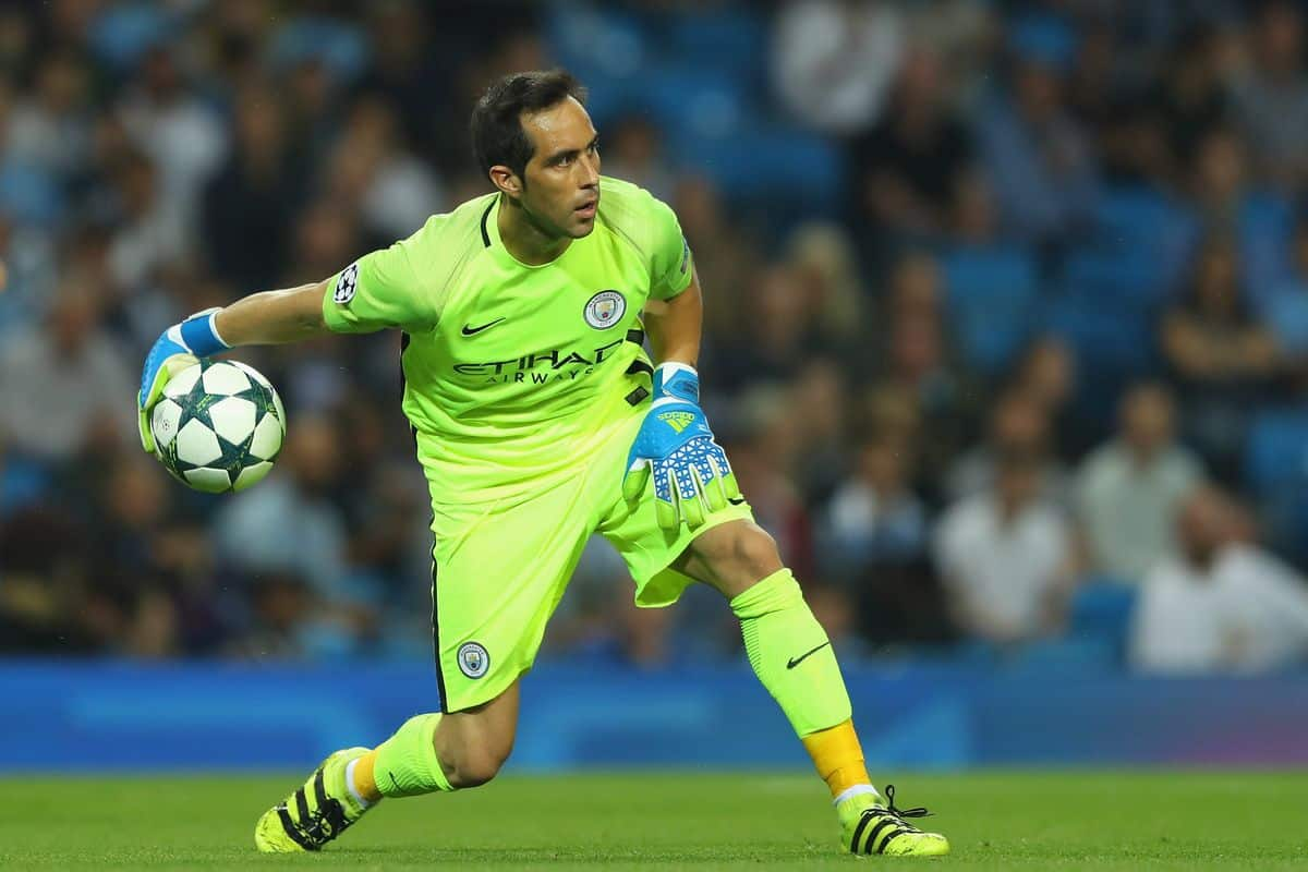 Bravo has dismissed speculation he could leave Manchester City