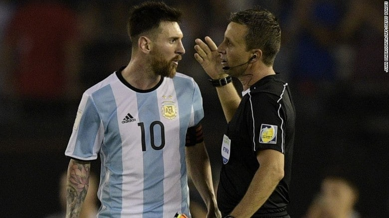 maradona denies his influence in messi ban
