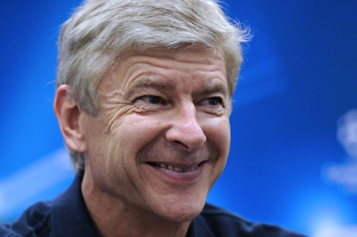 Wenger has been speaking to the press ahead of the weekend's match with Man City