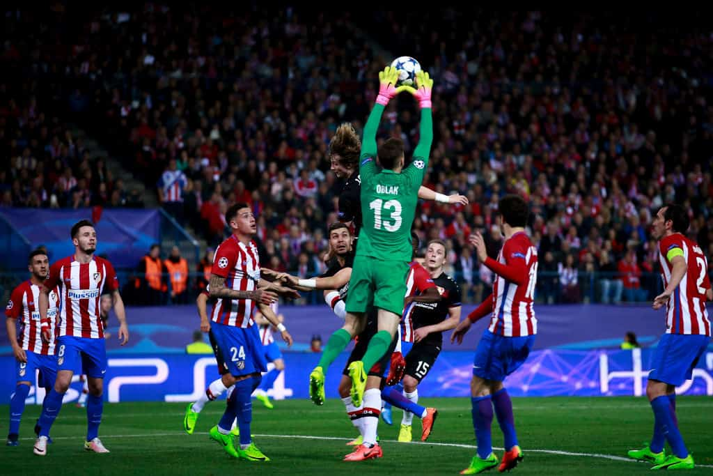 Jan Oblak Champions League