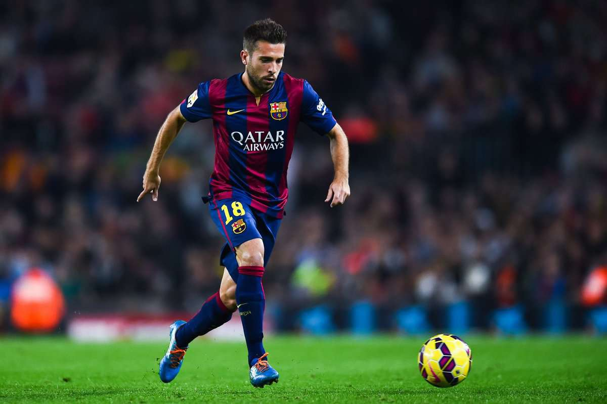 Guardiola is preparing a bid for Barcelona defender Jordi Alba