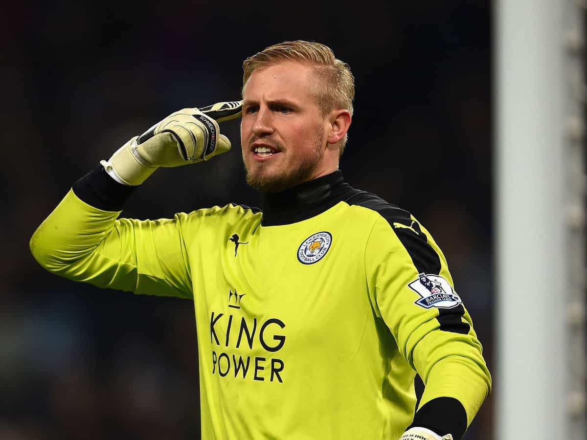 "Schmeichel has hailed Leicester's unbelievable achievement"" in reaching the quarter-finals of the CL"