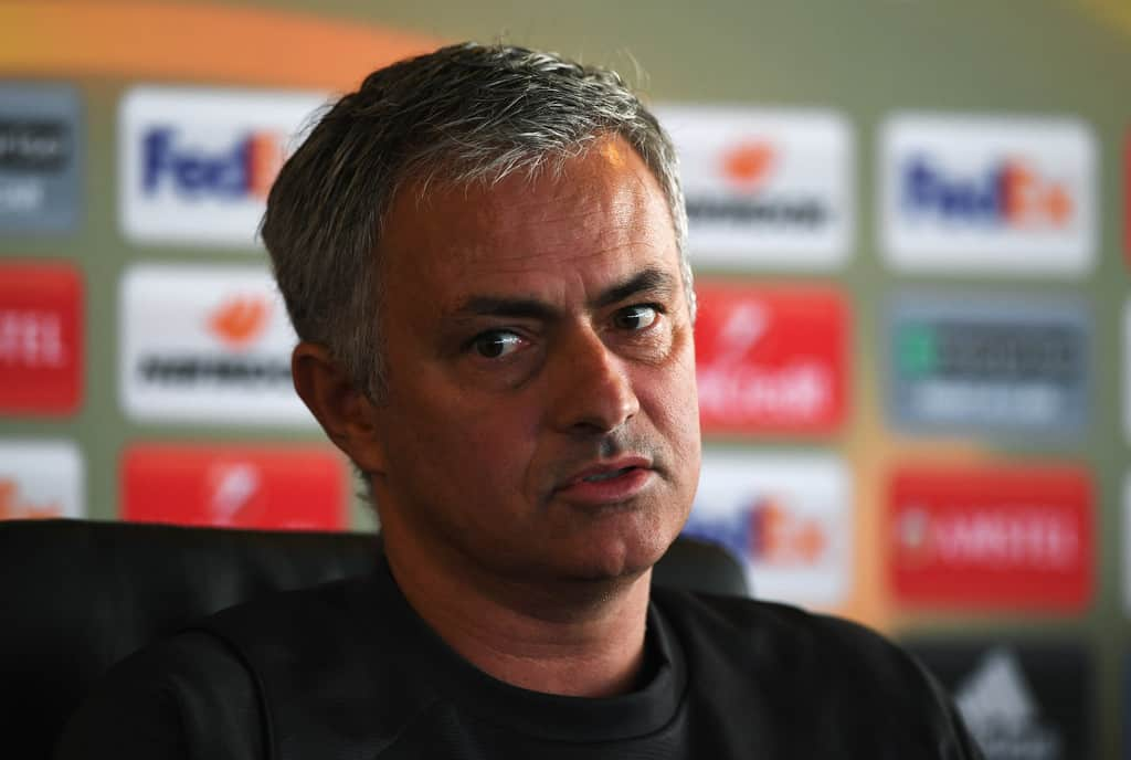 Manchester United head coach JOse Mourinho