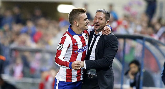 griezmann and simeone