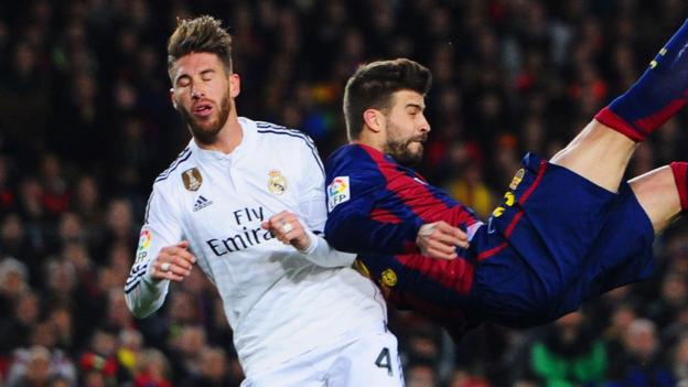 ramos on pique rivalry