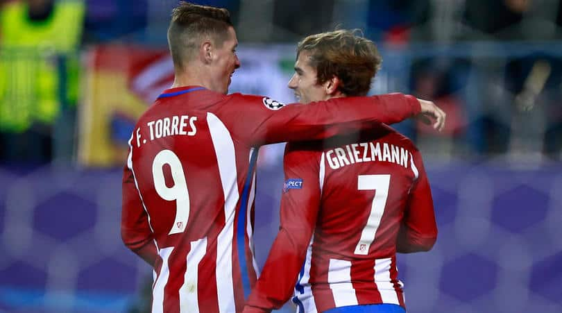 torres and griezmann