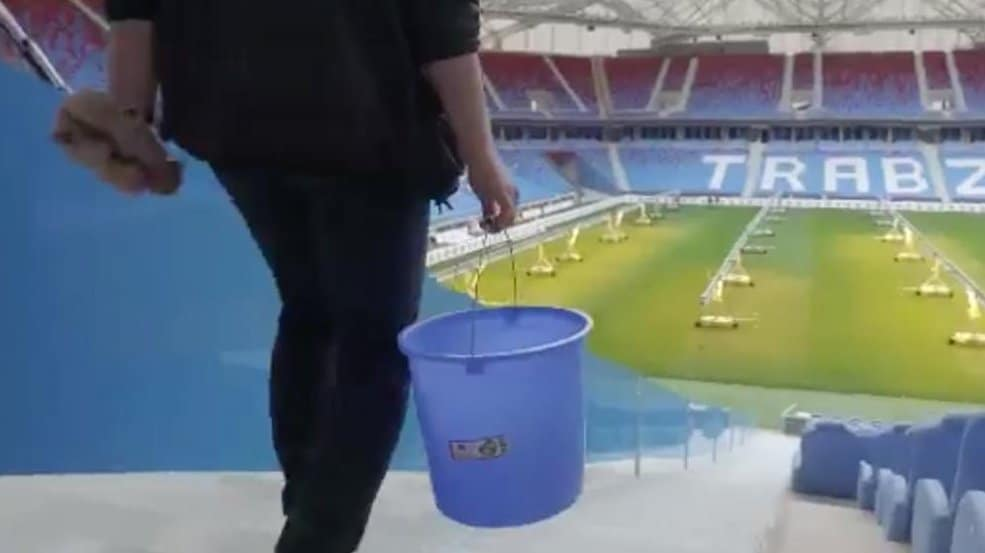 trabzonspor fan washes 10k seats