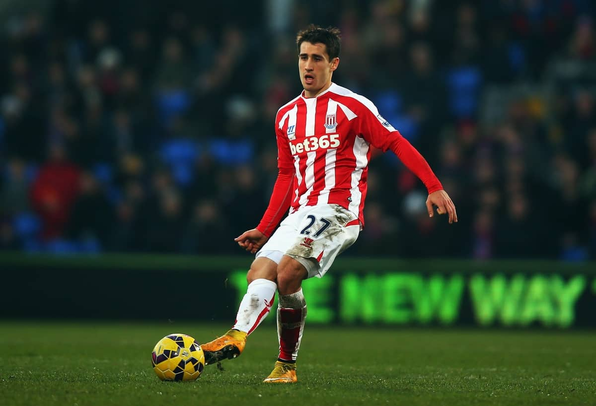 Espanyol are interested in signing Stoke City forward Bojan Krkic