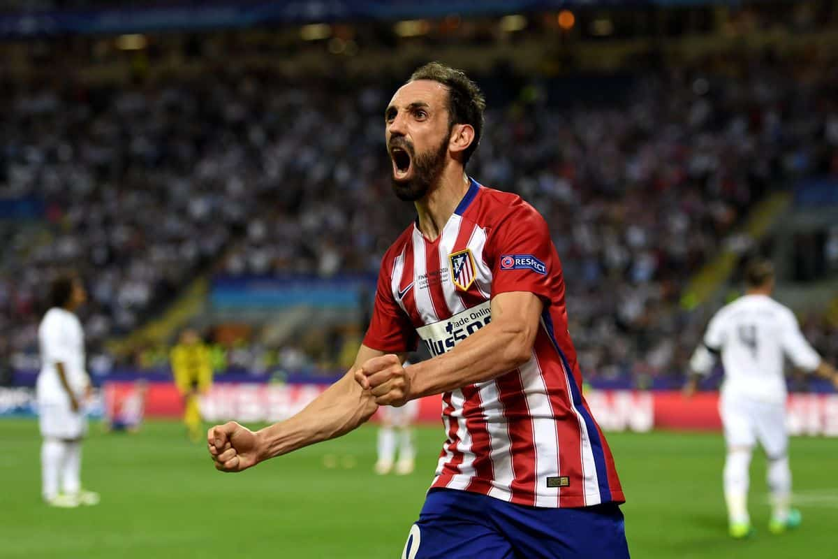 Juanfran suffered a Grade II muscle injury
