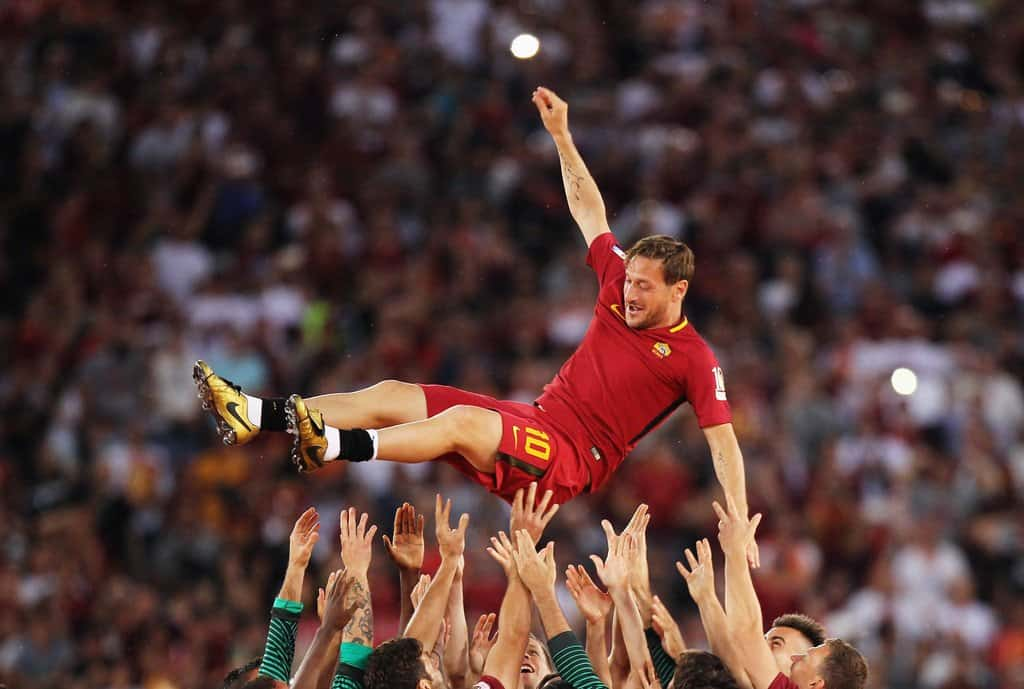 Francesco Totti farewell