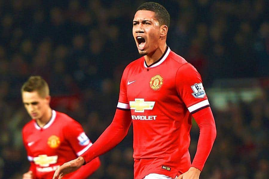 Smalling has reportedly scouted by Everton