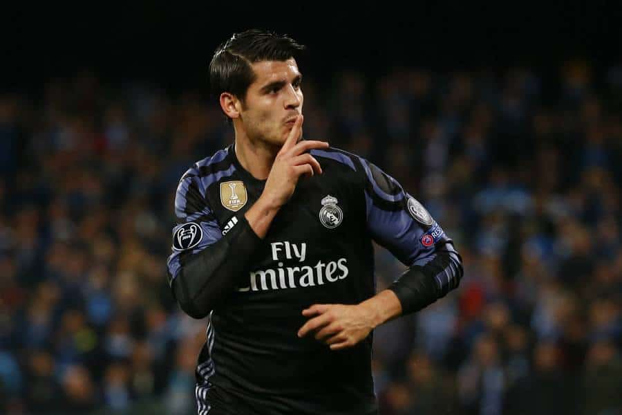 Morata is expected in Manchester on Monday