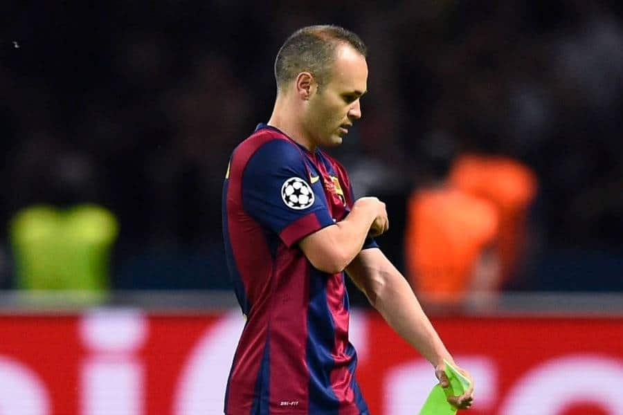 Barcelona are prepared to hand Andres Iniesta a free transfer