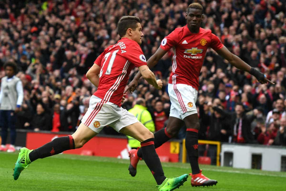 Herrera has no interest in leaving Manchester United