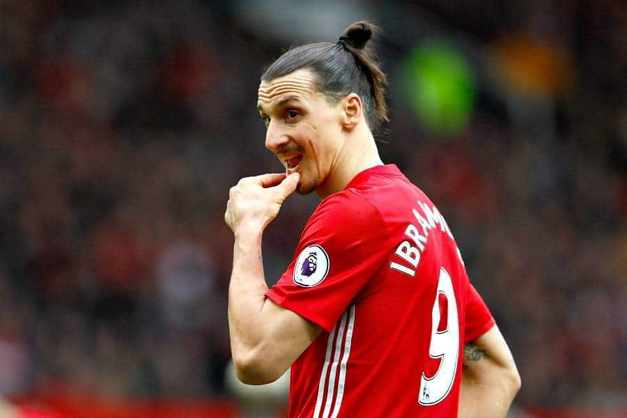 Ibrahimovic has been released by Manchester United