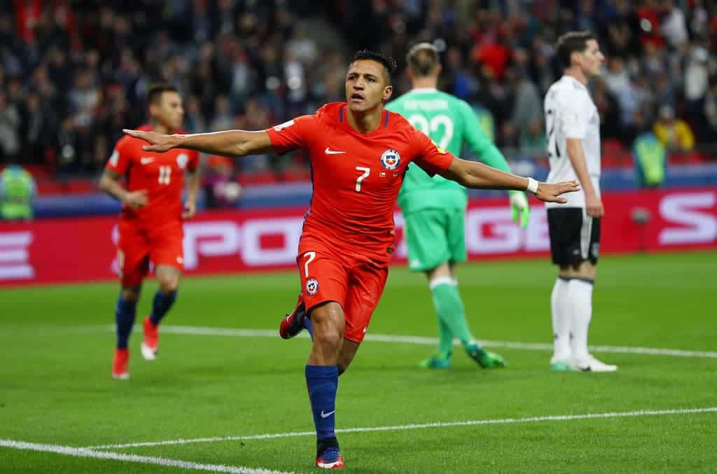 Sanchez CHile national team goalscorer