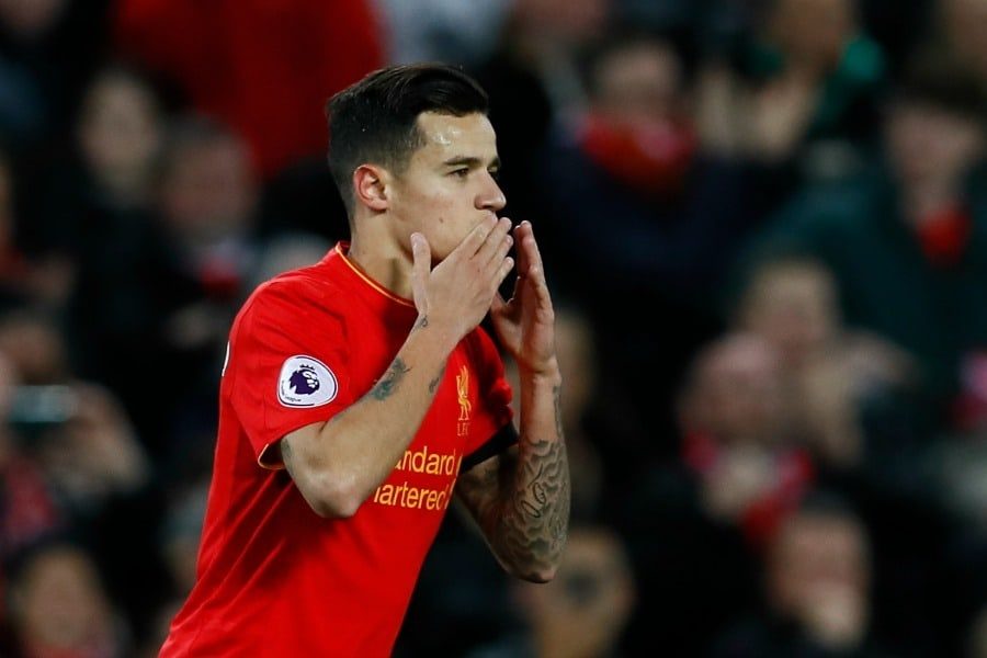 Liverpool face fresh pressure from PSG over the future of Coutinho